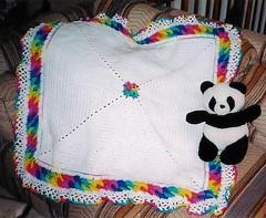 Ravelry Baby Rings Layette Girl S Blanket Pattern By
