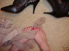 25 (feetman1) Tags: feet stockings femalefeet