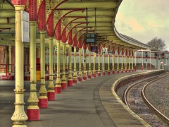 The Train Place (BoboftheGlen) Tags: station scotland railway kilmarnock ayrshire