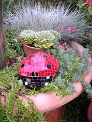 Ladybug (stiglice - Judit) Tags: mosaic ladybug mosaique mozaiek mozaik