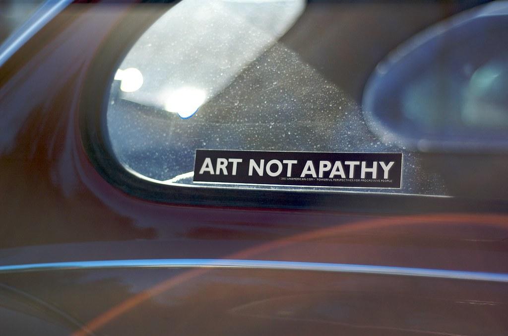 Art no Apathy