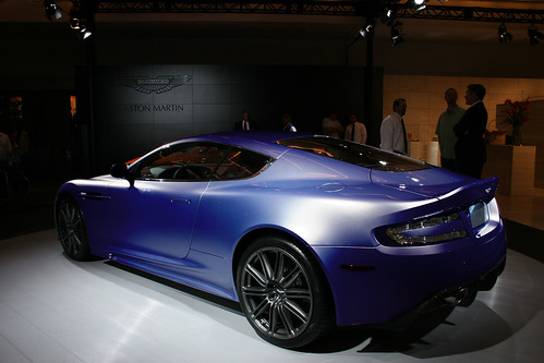 Aston Martin at the LA Auto Show