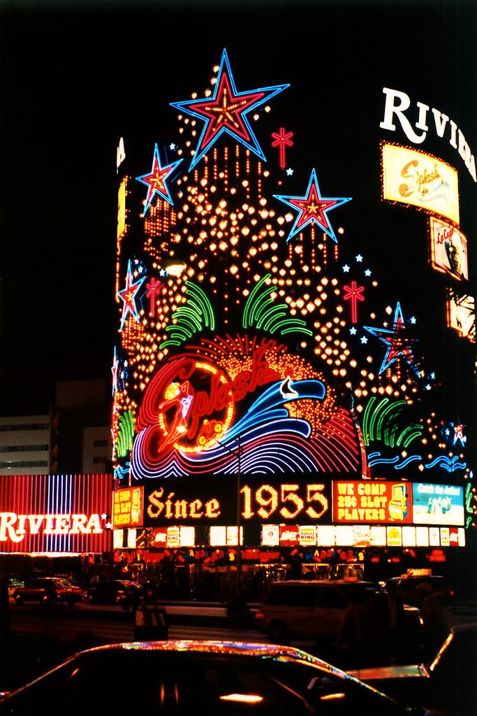 Riviera Hotel sign, Las Vegas