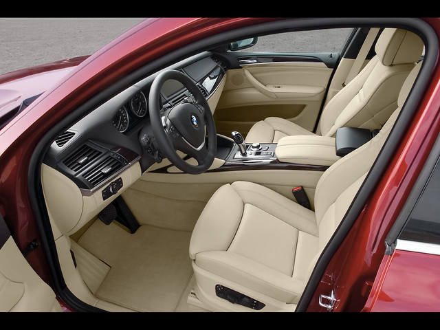 sports concept activity 2008 coupe x6 bmwx6 red6x x6interior