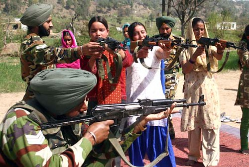 INDIA KASHMIR WOMEN VILLAGE DEFENCE COMMITTEE by jaipalsingh.