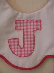 Baby Bib - Girls Funky 2a (HeavenLee Creations) Tags: baby bibs babybibs personalisedbabybibs