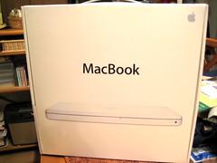 MacBook到着