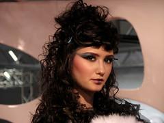 Lei (Stranju) Tags: roma girl canon model sony femme hostess potrait 2008 ragazza fiera photoshow modella stranju guagliona