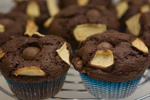 Muffin Cioccolato e Mele