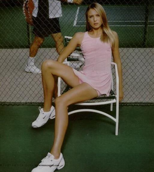 Maria Sharapova Tennis Russie