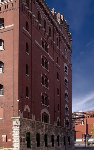 Anheuser-Busch Brewery, in Saint Louis, Missouri, USA - building 2