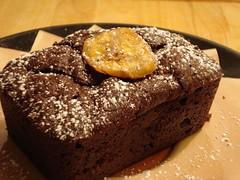 Banana Chocolate Brownie