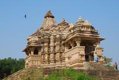 Temple (Larry He) Tags: world travel sculpture india art heritage monument architecture temple site ancient unesco hindu hinduism dynasty cultural  pradesh khajuraho  madhya jainism     chandella