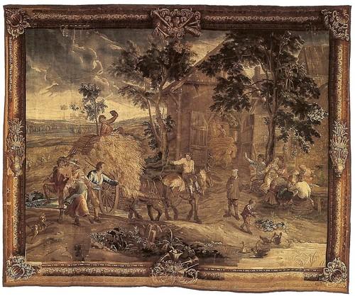 08-A la vuelta de la cosecha siglo XVII