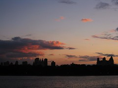 IMG_0153 Central Park Sunset (Peter Sealy Art & Photography) Tags: newyorkcity sunset skyline clouds centralpark manhattan centralparkwest jacquelinekennedyonassisreservoir