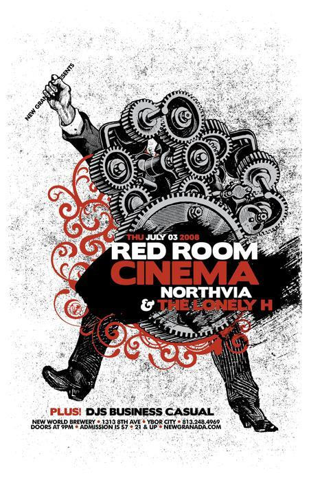 red room cinema - july 3rd