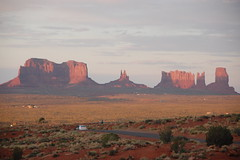 Sunset at Monument Valley, USA
