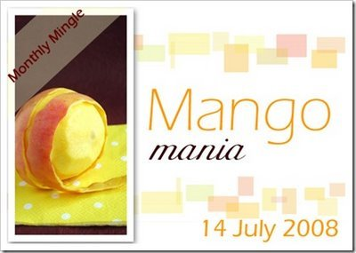 Monthly Mingle 23: Mango Mania