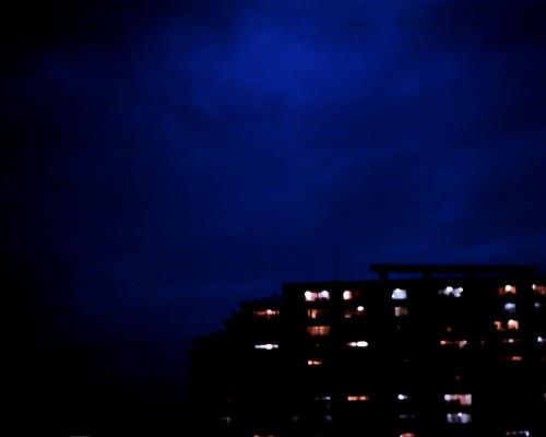 【写真】VQ1005で撮影した日没後の空
