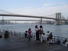 visitors pier 17
