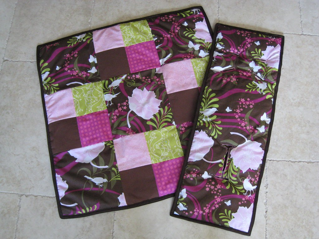 Baby stroller cushion and quilt