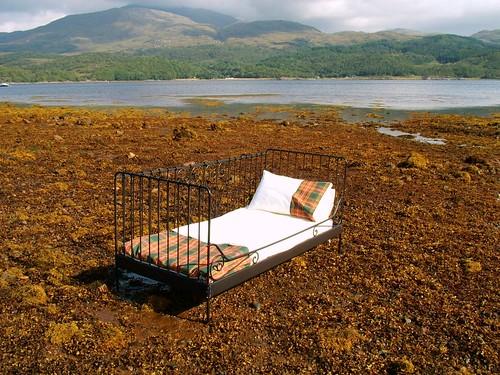 Ancient Buchanan bed linen