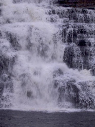 Cascading falls at Barberville