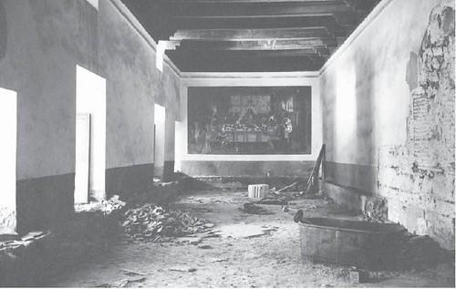 Refrectorio del Convento de las Concepcionistas en la Guerra Civil