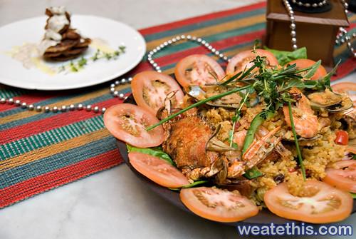 Seafood Paella Luzonia