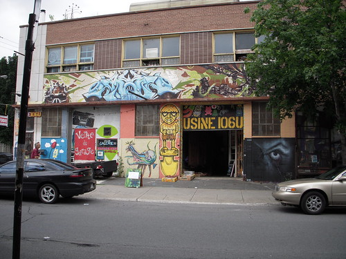 Montreal grafitti