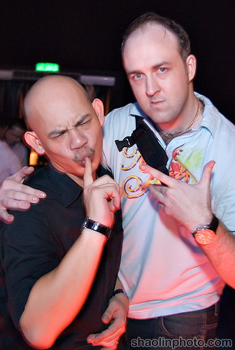 Me and Joe Balan