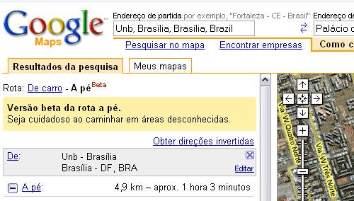 2700036990 b52984484a Disponível agora direções para ir caminhando no Google Maps