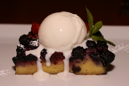 Berry Bread Pudding