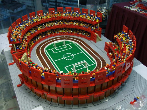 LEGO Sport City (behind the scenes)