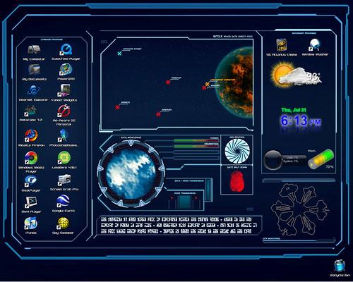 Stargate Atlantis desktop