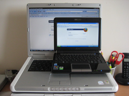 Eee PC 901 on Dell Inspiron 6400