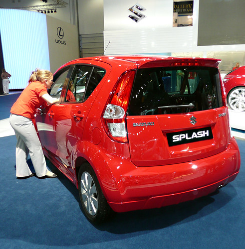 Suzuki Splash Indonesia. Suzuki Splash Rear