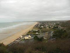 Carolles plage, France ([GW] GrafikWar) Tags: granville manche jullouville stpairesurmer vudebaiedecarolles