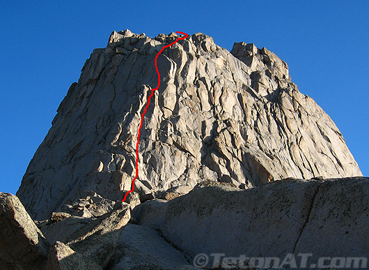 South Buttress Route on Pingora