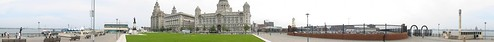 Panorama of Liverpool riverfront by you.