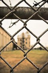 Outside the Fence (crashmattb) Tags: abandoned nashville state decay tennessee prison urbanexploration jail tennesseestateprison canoneosdigitalrebelxti anawesomeshot sigma1770mmf2845dc
