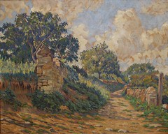 Sentier  Carennac (Lot) Vers 1935 (Chamant) Tags: life mer france art nature painting belgium belgique aquarelle fineart paintings brugge lot dordogne peinture canvas morte painter oil impressionism sur bruges prigord guerre georges impressionist bam emile oilpainting gourdon ypres peintre perigord frenchriviera quercy cagnes oise impressionnisme postimpressionism impressionniste grandeguerre peinturelhuile jemappes cougnac carennac dpartementdulot chamant peintrebelge departementdulot postimpressionniste lebacq georgesemilelebacq georgesmile belgianpainter georgeslebacq