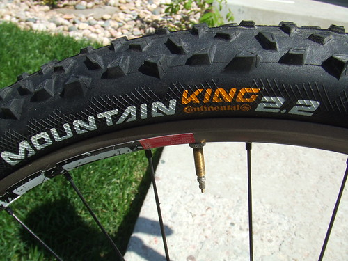 Conti Mountain King 2.2 Tubeless Tires