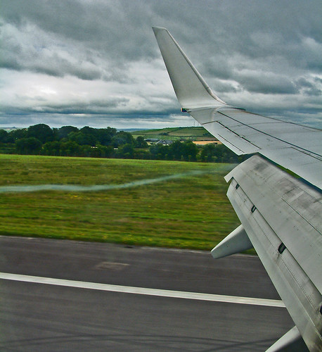 leaden skies - must be landing in Cork :-)