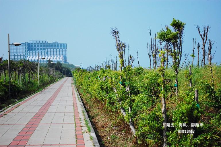 20080907_離開南寮漁港後的第一個車道