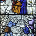 Exeter Cathedral, sII, Aaron & Hur hold up the arms of Moses during the slaughter of the Amalekites