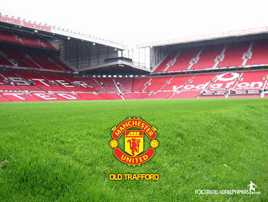 soccer-wallpaper-Old Traford-Manchester United