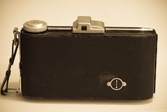 Agfa Billy I - Back, Closed