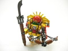 Ubermann Hardsuit:Vaishnava (Crimson Wolf) Tags: man lego indian uber hardsuit ubermann