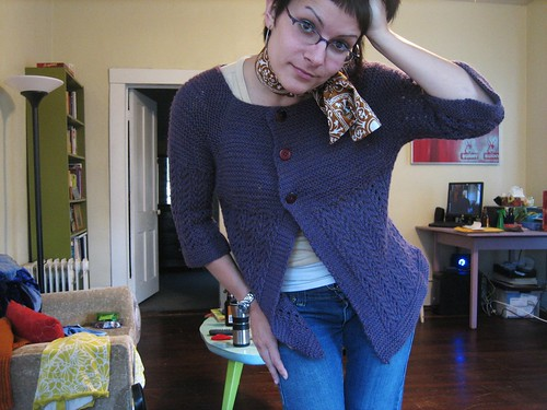 080919. the february lady sweater, all done.